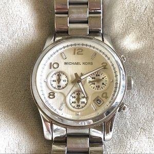 Michael Kors Women's Stainless Chronograph Watch